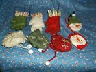 ksm. Midwest of Cannon Falls Christmas Ornaments Mittens Hats Snowmen U Chose