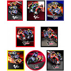 MotoGP Superbike Racing Championship Woven Patches Iron On Sew On Motif Applique
