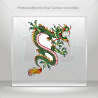 Decal Stickers Dragon Japan Helmet Motorbike Boat Door vinyl Garage mtv RS626