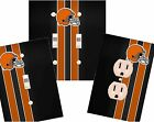 Cleveland Browns light switch wall plate custom covers man cave room decor