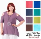 OH MY GAUZE Cotton MIAMI Peek-a-Boo Top 1(S/M) 2(L/XL) 3(1X) 2015 DISC COLORS