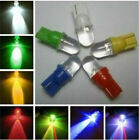 10x T10 W5w 501 194 Xenon White Blue Led Side Interior / Number Plate Light Bulb