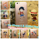 One Piece Luffy Pirates Group Soft Rubber Cover Case For Apple iPhone 6 and 6S