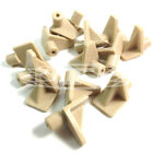 BEIGE PLASTIC 5mm (M5) SHELF SUPPORT STUD PEGS KITCHEN CABINETS PLUG IN (AU4)