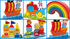 Kids Baby Motor Skills Toys Stacking Blocks Rods Colourful wooden NEW NEW