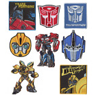 Transformers Robots Woven Embroidery Iron On Motif Patch Applique