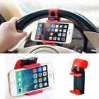 Universal Car Steering Wheel Bike Clip Mount Holder For iPhone For Cell Phones s