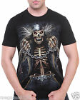 Rock Eagle T-Shirt Sz M L XL XXL 3XL Grim Reaper Skull Tattoo Biker Rider RE181