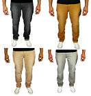 Straight Slim Fit 5 Pocket Cotton Chinos Pants Jeans Grey Sand Charcoal Camel