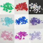 ACRYLIC AB BEADS *10 COLOURS* BEADING JEWELLERY CRAFT