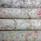 Porter and Stone RENAISSANCE Floral/Bird Cotton Fabric for Upholstery/Curtains.