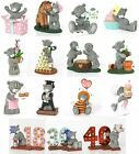 Me to You December 2015 Figurines Selection Resin Figurine Variety - Tatty Teddy