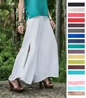 OH MY GAUZE Cotton Long Wide Leg BREEZE Pant 1(M/L/XL) 2(1X/2X) 2015 DISC STYLE