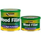 Everbuild 2 Part High Performance Wood filler Various Colours 500g 1.4kg