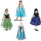 Girls pretty Princess Halloween 3-8Y Cosplay Kids Party Fancy Dress Up lovely
