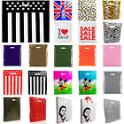 1x25x50x100x Fashion gift plastic bags Sale bags/Designer strong carrier bags