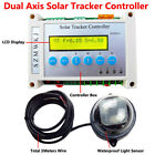 Electronic Single/Dual Axis PV Solar Panel Tracking Sun Track Tracker Controller