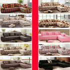 1Seat 2Seats 3Seats Fitted Stretch Sofa Couch Cover For Corner / L-shaped Sofa