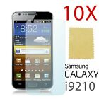 10 Pack X LCD Guard Screen Protector Film for Samsung i9210 Galaxy S2 4G II