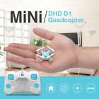 DHD D1 2.4G 4CH RTF 3D Flip Headless Mini RC Quadcopter Drone Good Quality Toy