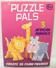 3D Puzzles Animal Farm Forest African Creats Foam Figures