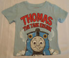 THOMAS & FRIENDS 2T Or 3T Choice Short Sleeve Light Blue Shirt Top NWT