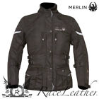 MERLIN ISIS BLACK LADIES WOMENS WATERPROOF THERMAL MOTORBIKE MOTORCYCLE JACKET