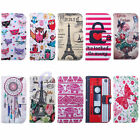 Pretty Flip Leather Wallet Stand Soft Case Cover For Samsung Galaxy Alpha G850F