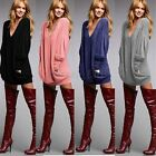 Popular Fine Womens Pullover Ladies V-neck Long Sleeve Casual Blouse Loose Tops
