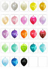 20X Link-o-Loons Latex Balloons Arch Pearl colors Birthday Wedding Party decor