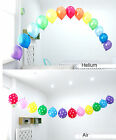 50X Balloons & Arch kit set Birthday Party Wedding Decoration clear 5M Strap