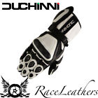 SALE CHEAP DUCHINI STIG WHITE BLACK MOTORCYCLE MOTORBIKE TOURING GLOVES