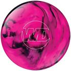 Внешний вид - NEW Columbia 300 White Dot Polyester Bowling Ball, Pink/Black, 6 - 11 LB