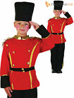 Boys British Armed Guard Costume Childs Solider Fancy Dress Up London Book Week