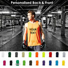 Customizable Mens Bodybuilding Gym and Sports Top IDEAL FOR TRAINING AND CASUAL