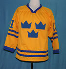 DANIEL ALFREDSSON TEAM SWEDEN HOCKEY JERSEY SEWN NEW ANY SIZE XS 5XL