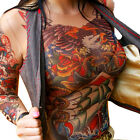 Wild Rose Ladies Tattoo Mesh Shirt, Americana Original