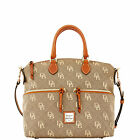 Dooney & Bourke Maxi Quilt Pocket Satchel