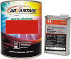Advantage Alkyd Synthetic Enamel RAL 3020 TrafficRed Equipment Paint