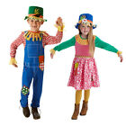 Mr & Mrs Scarecrow Fancy Dress Costumes Kids Book Day Week New Storybook Outfits