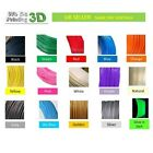 3D Stampante Filamenti Pla 1.75mm,20 + Colours - 100m 50m 20m 10m Lengths -