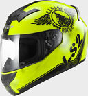 CASCO INTEGRALE LS2 ROOKIE FAN FF352 GIALLO
