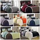 Chezmoi Collection 7-Piece Quilted Patchwork Duvet Cover Set with Corner Ties image