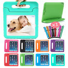Kid's Shockproof Thick EVA Handle Stand Case Cover for Apple iPad Samsung Tablet