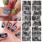 BCN Serie Resuable Nail Stamping Plate Art Manicure Design Image Decor 30 Style