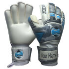 zoop pro goalkeeper flat roll finger saver goalie gloves size 5/6/7/8/9/10/11