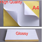 Quality 21x29cm A4 White Glossy Self-adhesive Sticker Paper Inkjet Printer Label