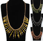 Hot Fashion Women Bubble Bib Statement Necklace Chain Wedding Party Jewelry #US