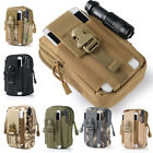 Hot Hiking Travel Military Tactical Army Waist Bag Pack Pouch Unisex Colors