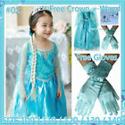 Kids Girl FROZEN Elsa ANNA Easter Party Dresses Costume AGE SIZE 3T 4 5T 6T 7 8T